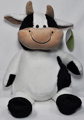 EB Embroider Cow 16 Inch Emboidery Stuffed Animal