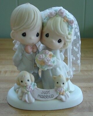 Precious Moments Till the End of Time Figurine Just Married #4001653 - 5 1/4""