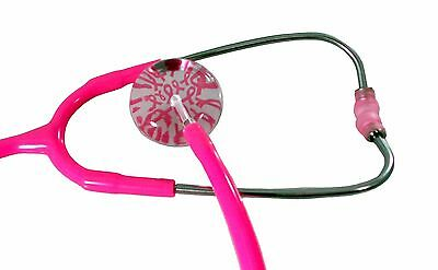 Breast Cancer Awareness Hot Pink Stethoscope