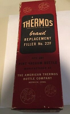 Vintage Thermos Grand Replacement Filler No. 22F