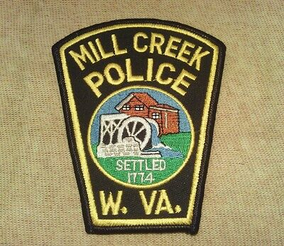 WV Mill Creek West Virginia Police Patch