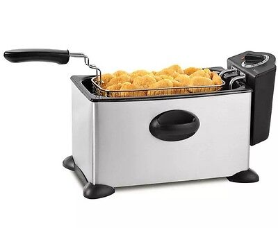 Bella Large 3.5L Deep Fryer Stainless Steel 13401 NEW