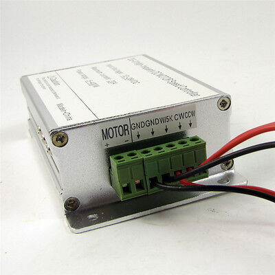 400W DC SoftStart Reversible Motor Speed Control PWM Controller 12V-28V 20A