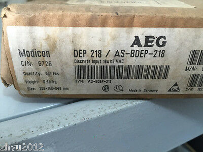 1pc AEG Modicon PLC DEP 218 / AS-BDEP-218