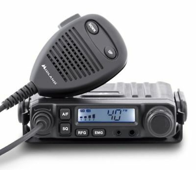 Crt One N Am Fm Uk / European Norms Ultra Compact 80 Channel Mobile Cb Radio