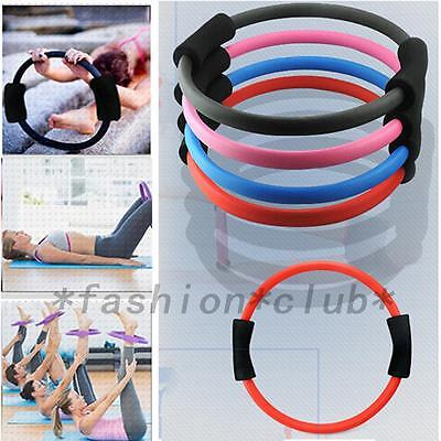 Hot Pilates Ring Magic Circle Dual Grip Sporting Goods Yoga Exercise Fitness