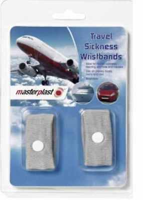 2X Anti Nausea Morning Sickness Motion Travel Sickness Wrist Bands Car Sea Plane