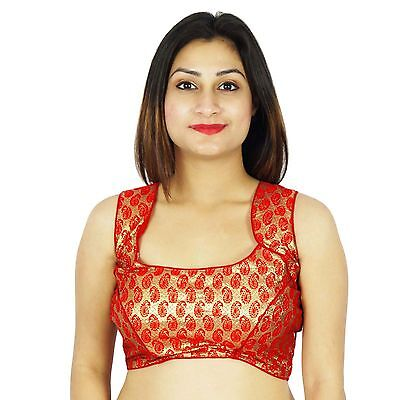 Saree Readymade Choli Bollywood Stitched Party Wear Designer Blouse Crop Top