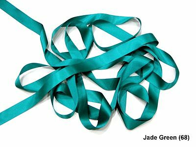 Berisfords Jade Green 15mm Double Sided Satin Ribbon 1m//5m//10m//20m//100m