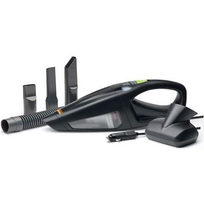 Halfords Car Handheld 12V 4m Cable Brush Nozzles Dual Speed Vacuum Cleaner