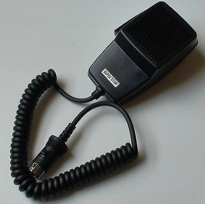 5-PIN DIN TYPE MICROPHONE for UNIDEN COBRA 27MHz CB RADIOS MIC OMNI-DIRECTIONAL