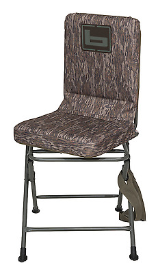 Banded Swivel Blind Chair Padded Seat Hunting Stool Bottomland Camo Reg New!