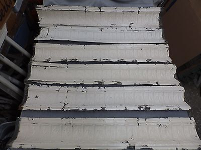 40 Feet Antique Tin Ceiling Border Cove Molding Decorative Architectural 1438-16