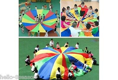 Multicolor New Kids Children Play Parachute Outdoor Game Exercise 2m