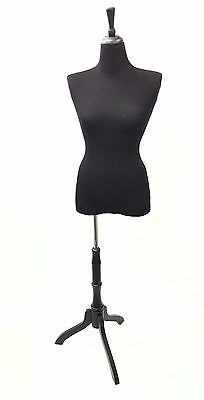 1 New Black Stretchy covers, to renew female mannequin torso for Half Body Form