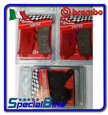 Bmw S 1000 Rr Hp4 2013 > 2014 Brembo Front / Rear Brake Pads Set