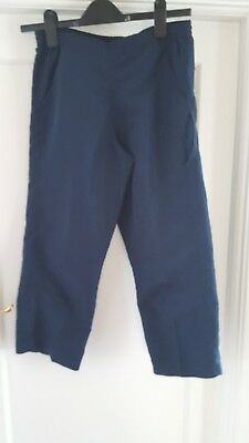 Boys Girls Rucanor Navy Tracksuit  Bottoms Trousers Sportswear School Uniform