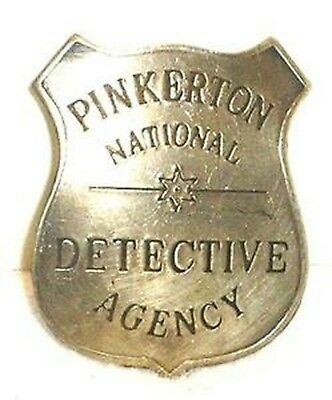 HWC Private Investigator Nickel Breast Badge