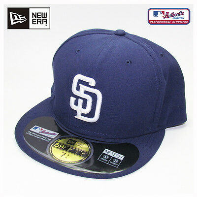 San Diego Padres MLB Authentic Collection New Era Home On-Field Cap Hat