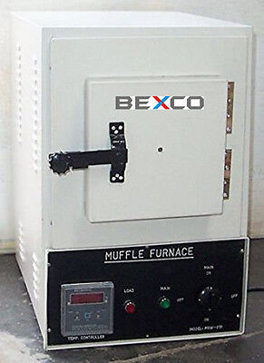 RECTANGULAR MUFFLE FURNACE Lab, Science Heating Equipment by BASCO, DHL Shipping