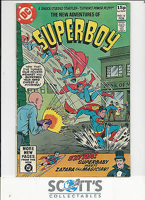New Adventures of Superboy  #14  VG