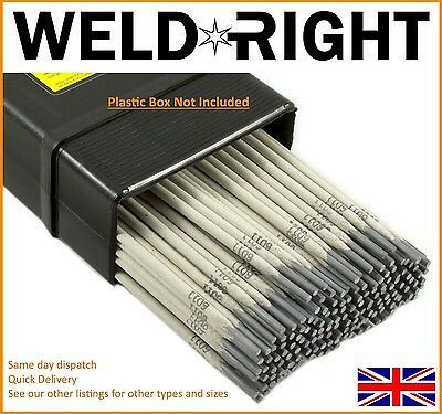 Weldright General Purpose E6013 Arc Welding Electrodes Rods 1.6mm x 10 rods