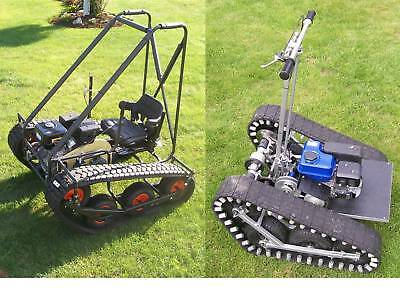 Personal Tracked Vehicle & Magic Carpet,TWIN PACK plans