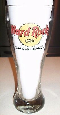 Hard Rock Cafe Cayman Islands Collectible Pilsner Glass