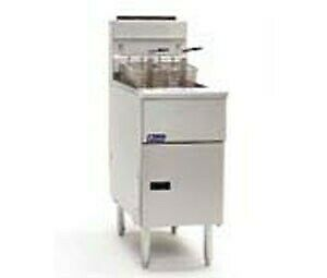 Pitco Solstice Series Fryers Stand Alone Gas Fryers SG14S