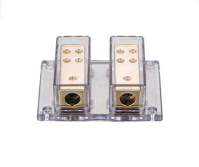 APS NC Shipping 2X4 Gauge To 8 X 8 Gauge Power/Ground Distribution Block SKPD-12