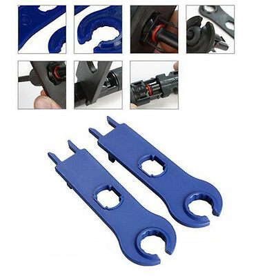 1Pair PV MC4 Solar Panel Connector Spanner Pair Wrench Disconnect Tool Set 2PCS