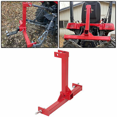 2Category 1 Drawbar Tractor trailer hitch receiver 3 Point Attachment Standard
