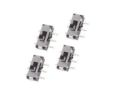 10pcs MSS22D18 MINI SMD Slide Switch 2P2T 6-Pin NEW CK