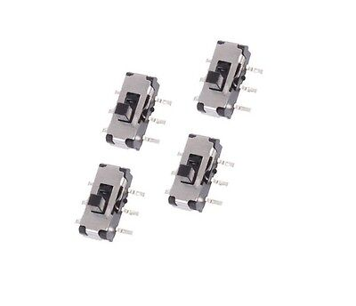 20pcs MSS22D18 MINI SMD Slide Switch 2P2T 6-Pin NEW CK
