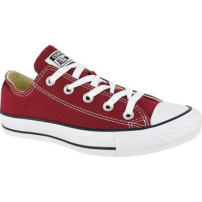 SCARPE CONVERSE ALL Star Bordeaux Basse M9691C EUR 65,00