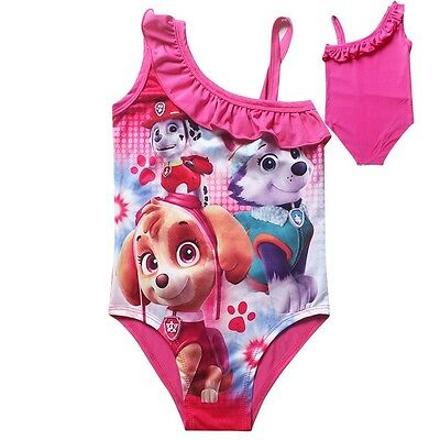 New Girl Princess Paw Patrol Bather swimmer one piece size 3-6yrs