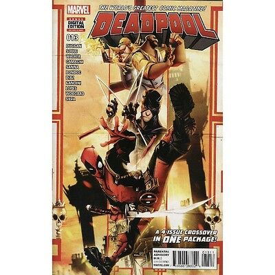Deadpool #13 Marvel Comics Giant 96 Pages! 1st Printing
