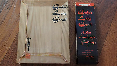 Very Long Old Chinese Scroll Hand Painting Landscape Marked WangShiShen NE986