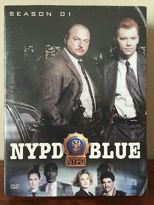 NYPD Blue - Season 1 (DVD, 2003, 6-Disc Set) Brand New Sealed!