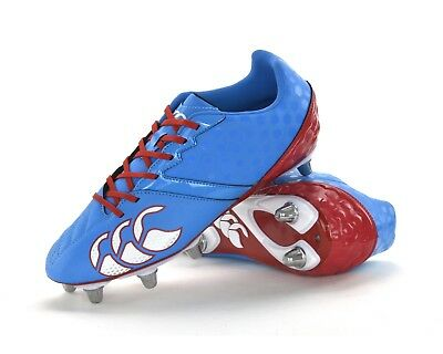 Canterbury Phoenix Club 8 Stud - Mens Rugby Boots - E22349 A60 - Brand New