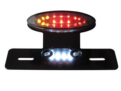 Rear Brake Tail Light & Indicators for Cafe Racer & Streetfighter Project - LED