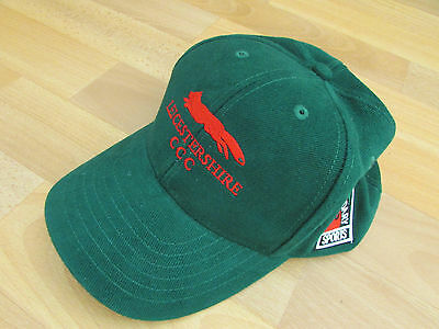 LEICESTERSHIRE CCC Boundary Sports CRICKET Baseball Cap / Hat ADULT Size