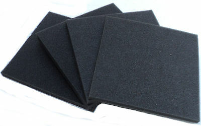 "(4) High Density Foam Blocks 9"" x 9 x 1/2"" Protection Packing"