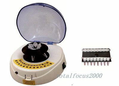 Mini Electric Centrifuge Lab Medcial 4000 RPM Small  light stable Brand New A
