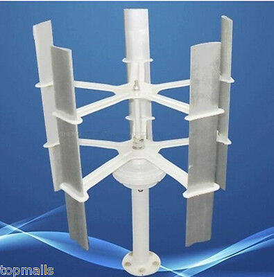 10w Max 15W 12V c; High-efficient Small Domestic Wind Turbine Generator,5 Blades