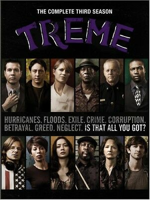 Treme: The Complete Third Season [New DVD] Boxed Set, Full Frame, Subtitled, D