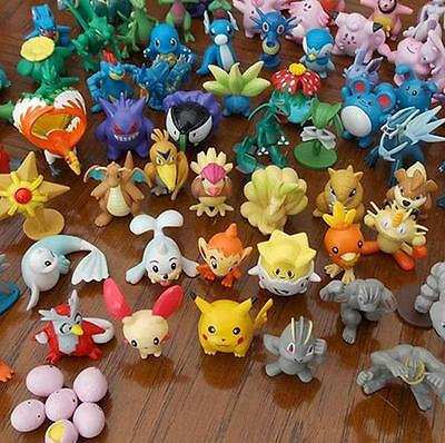 New 24 Lovely Lots 2-4cm pokemon Monster Mini Random figures Toy Party Gifts