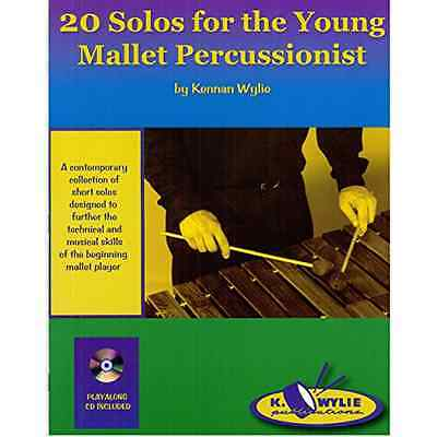 K. Wylie Publications 20SOLOS2 20 Solos for the Young Mallet Percussionist