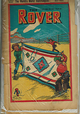 ROVER COMIC - 25 issues from 1947  D. C. Thomson