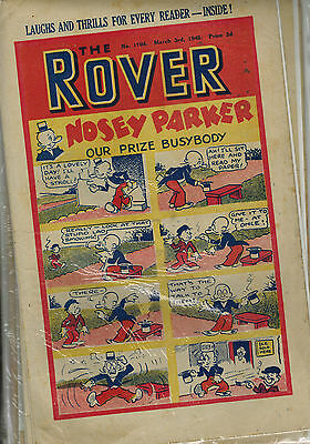 ROVER COMIC - 13 issues from 1945  D. C. Thomson